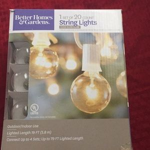 String lights (New) Box never opened.